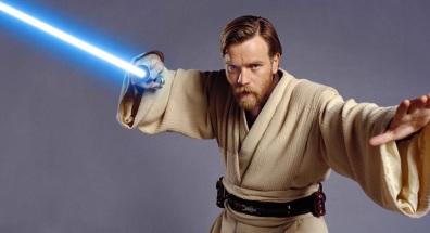 Actor Ewan McGregor as Obi-Wan Kenobi