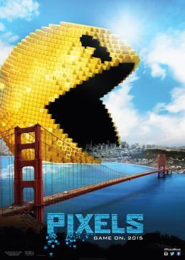 Posteres de Pixels